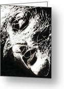 Long Hair Greeting Cards - Sensations Greeting Card by Richard Young