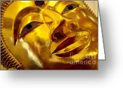 Inner Peace Greeting Cards - Serene Greeting Card by Dean Harte