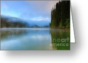  Beve Brown-clark Greeting Cards - Serene Greeting Card by Reflective Moments  Photography and Digital Art Images