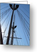 Sailboat Picture Greeting Cards - Set Sail Greeting Card by Ginger Wemett