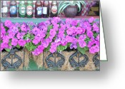 Store Fronts Greeting Cards - Seven Bottles Of Beer On The Wall Greeting Card by Jan Amiss Photography