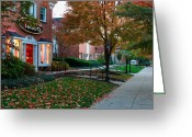 Sewickley . Greeting Cards - Sewickley 2 Greeting Card by Emmanuel Panagiotakis