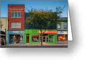 Sewickley . Greeting Cards - Sewickley 3 Greeting Card by Emmanuel Panagiotakis