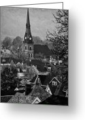 Sewickley . Greeting Cards - Sewickley 4 Greeting Card by Emmanuel Panagiotakis