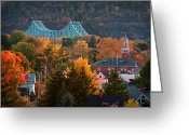Mellon Arena Greeting Cards - Sewickley 6 Greeting Card by Emmanuel Panagiotakis
