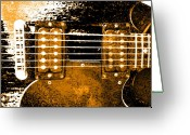 Music Pyrography Greeting Cards - Sg 3 Greeting Card by Jerry Killian