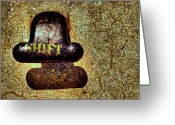 Mooring Greeting Cards - ..shadow...shift... Greeting Card by Russell Styles