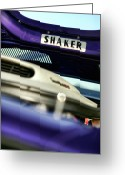 Super Bee Greeting Cards - SHAKER Hood Greeting Card by Gordon Dean II