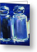 Online Art Gallery Greeting Cards - Shakers Greeting Card by Penelope Moore