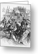 Jousting Greeting Cards - Shakespeare: Richard Ii Greeting Card by Granger