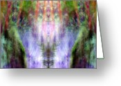 Shamanic Photo Greeting Cards - Shamanigans Greeting Card by Jane Tripp