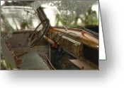 Old Chevrolet Truck Greeting Cards - Shattered and Old Greeting Card by Thomas Young