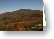 West Virginia Highlands Greeting Cards - Shavers Mountain October Greeting Card by Randy Bodkins