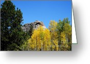 Colorado Mountain Prints Greeting Cards - Sheeps Head Mountain In the Autumn Greeting Card by Donna Parlow