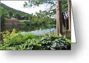 Randi Shenkman Greeting Cards - Shelburne Falls Greeting Card by Randi Shenkman