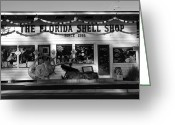 Sea Shell Art Greeting Cards - Shell Shop 1955 Greeting Card by David Lee Thompson