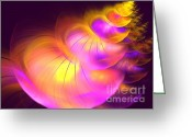 Round Shell Digital Art Greeting Cards - Shellicity Greeting Card by Kim Sy Ok