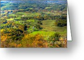 Shenandoah Greeting Cards - Shenandoah Valley I Greeting Card by Irene Abdou