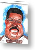 Nutty Greeting Cards - Sherman Klump Greeting Card by Torben Gray