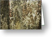 Anna Villarreal Garbis Greeting Cards - Shimmer Greeting Card by Anna Villarreal Garbis
