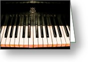 Steinway  Greeting Cards - Shine Greeting Card by Colleen Kammerer
