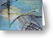 Shipwreck Greeting Cards - Shipwreck Greeting Card by Ethel Vrana