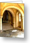 Entrance Door Greeting Cards - Side Entrance Greeting Card by Joe Hickson