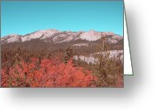 Nevada Greeting Cards - Sierra Nevada Mountain Greeting Card by Irina  March
