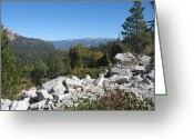 Nevada Greeting Cards - Sierra Nevada Mountains 1 Greeting Card by Irina  March