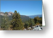Mountain View Greeting Cards - Sierra Nevada Mountains 2 Greeting Card by Irina  March