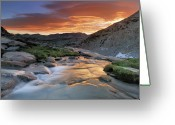 Crest Greeting Cards - Sierra Wave Over Yosemite National Park High Count Greeting Card by David Kiene