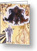 Freud Greeting Cards - Sigmund Freud Greeting Card by Karl Frey