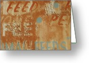 Photo-realism Greeting Cards - Sign ABSTRACT Greeting Card by Billy Tucker