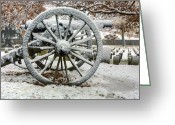 Gettysburg Greeting Cards - Silence  Greeting Card by JC Findley