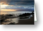Islands Digital Art Greeting Cards - Silence of Devotion Greeting Card by Sharon Mau