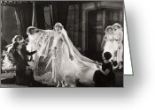 Bridesmaid Greeting Cards - Silent Film Still:wedding Greeting Card by Granger