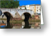 Foundations Greeting Cards - Silves Portugal Greeting Card by Louise Heusinkveld