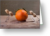 Still Life Greeting Card Greeting Cards - Simple Things - Antagonism Greeting Card by Nailia Schwarz