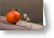 Still Life Greeting Card Greeting Cards - Simple Things - Sisyphos 01 Greeting Card by Nailia Schwarz