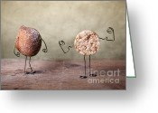 Poser Greeting Cards - Simple Things 01 Greeting Card by Nailia Schwarz