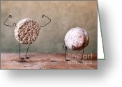 Poser Greeting Cards - Simple Things 04 Greeting Card by Nailia Schwarz