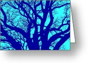 Tree Limbs Greeting Cards - Simplicity  Greeting Card by Elizabeth Budd