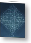 Origin Greeting Cards - Sine Cosine and Tangent Waves Greeting Card by Jason Padgett