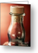 Bar Decor Greeting Cards - Single Malt Greeting Card by Amanda Barcon