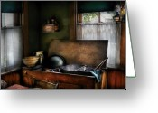 Sink Greeting Cards - Sink - The Kitchen Sink Greeting Card by Mike Savad