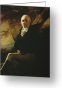 1823 Greeting Cards - Sir James Montgomery Greeting Card by Sir Henry Raeburn
