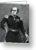 Hand On Hip Greeting Cards - Sir John Franklin, British Explorer Greeting Card by Cci Archives
