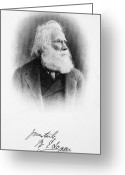 Autograph Greeting Cards - Sir William Edmond Logan Greeting Card by Granger