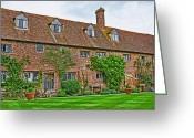 Harold Greeting Cards - Sissinghurst Castle Greeting Card by Chris Thaxter
