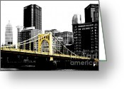 Roberto Clemente Greeting Cards - Sister #2 in Pittsburgh Greeting Card by Paul Henry